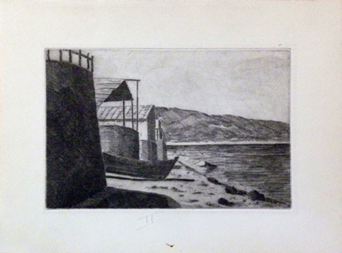 Art work by  Anonimo In riva al mare - lithography paper