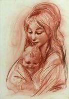 Quadro di A. Corsi  Maternità