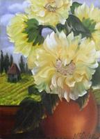 Quadro di Janice Sue Mc Carter  Vaso di fiori