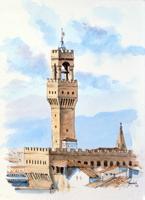 Roberto Lopez Fuentevilla - Torre di Arnolfo e Palazzo Vecchio