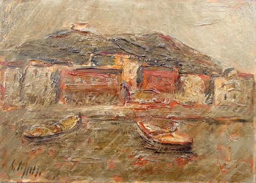 Art work by Emanuele Cappello Lerici - oil canvas