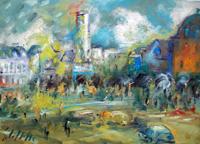 Work of Emanuele Cappello  Scorcio cittadino