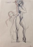Quadro di Claude Falbriard  Eros e Thanatos