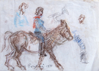 Work of Guido Borgianni  Figura a cavallo