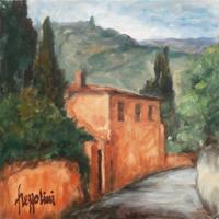 Quadro di Gianfranco Frezzolini  Paesaggio