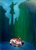 Work of Luigi Pignataro - Sogno mixed canvas