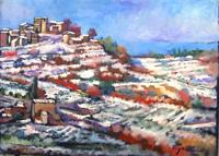 Work of Luigi Pignataro  Paesaggio innevato