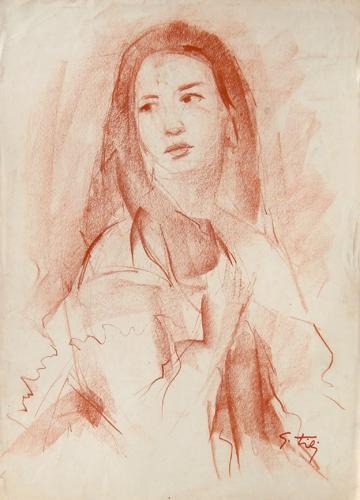 Quadro di Gino Tili La Maddalena  - pastello carta