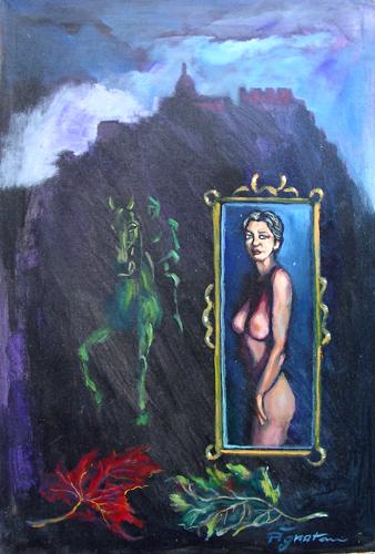 Quadro di Luigi Pignataro Onirico - mista tela