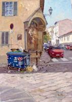 Work of Graziano Marsili  Tabernacolo in via San Giuseppe - Firenze