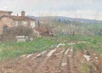 Work of Graziano Marsili  Dopo la pioggia (Pozzolatico)