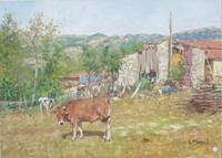 Work of Graziano Marsili  Paesaggio sull'Appennino