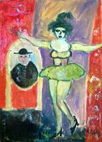 Quadro di Nada Monti  Ballerina