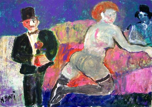 Artwork by Nada Monti, oil on canvas | Italian Painters FirenzeArt gallery italian painters