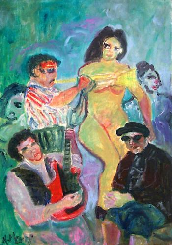 Art work by Nadia Monti Esibizione - oil canvas