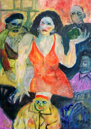 Artwork by Nadia Monti, oil on canvas | Italian Painters FirenzeArt gallery italian painters