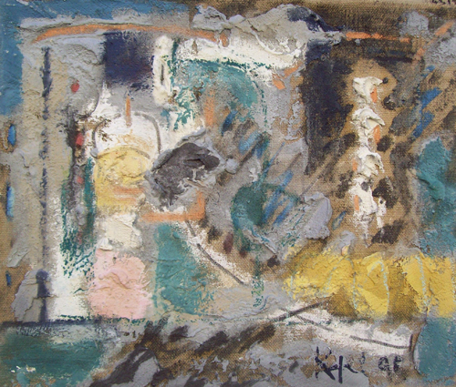 Quadro di  Kapel (Cappello) Ara di Ierone - affresco tela di juta