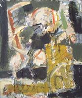 Quadro di  Kapel (Cappello) - Aprile olio tela