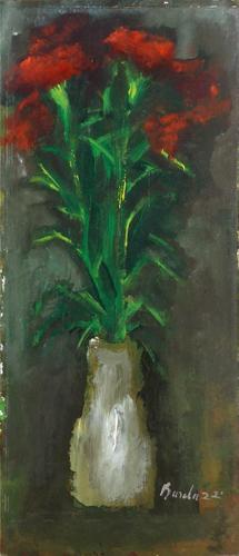Quadro di  Bardazzi Vaso di fiori - olio faesite