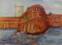 Quadro di Ivano Balluchi  Fortezza Vecchia, Livorno