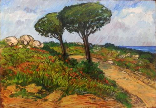 Quadro di Ivano Balluchi Paesaggio - mista faesite