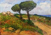 Quadro di Ivano Balluchi  Paesaggio