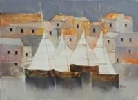 Work of Lido Bettarini  Case e vele