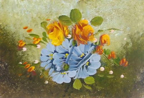 Artwork by  Anonimo, oil on cardboard | Italian Painters FirenzeArt gallery italian painters