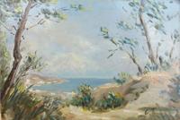 Quadro di Luciano Torsi  Paesaggio
