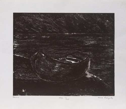 Quadro di Anna Brigida Barca - litografia carta