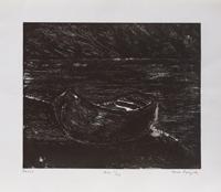 Quadro di Anna Brigida - Barca litografia carta
