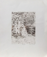 Quadro di Anna Brigida - Casa di Puglia litografia carta