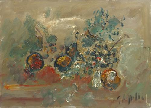 Quadro di Emanuele Cappello Natura morta - olio tela