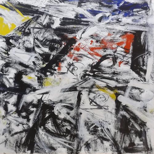 Quadro di Andrea Tirinnanzi Astratto - ink jet tela