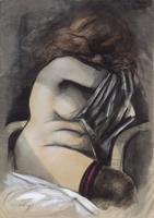 Work of Fausto Maria Liberatore  Figura di donna