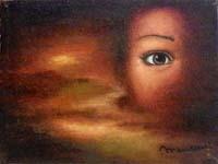 Work of firma Illeggibile - L'occhio dell'anima  oil canvas