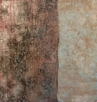 Art work by Enzo Bartolozzi Senza Titolo - mixed paper on canvas