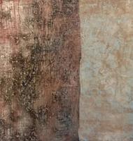 Quadro di Enzo Bartolozzi Senza Titolo - mista carta su tela