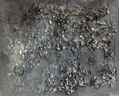 Quadro di Enzo Bartolozzi Frantumazioni - collage tela