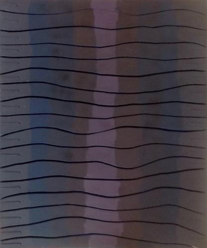 Quadro di Enzo Bartolozzi Senza Titolo - assemblaggio tela