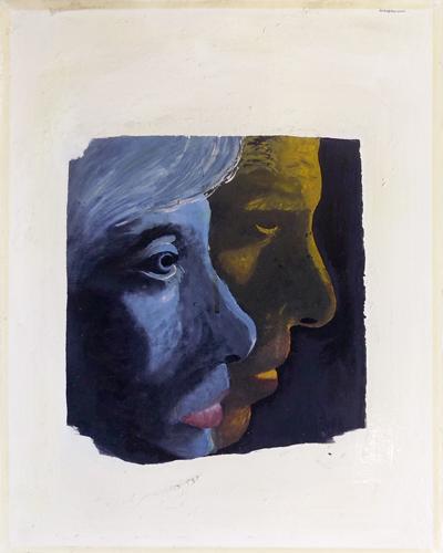 Quadro di Aldo Bogliolo Senza Titolo - mista tela