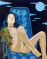Quadro di Riccardo Ghiribelli  Nudo