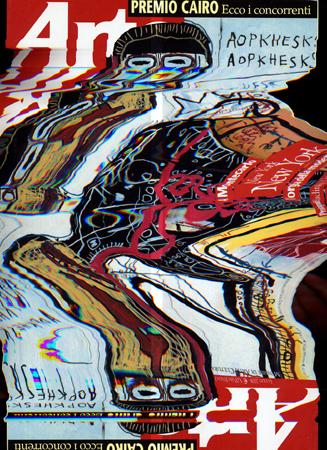 Quadro di Andrea Tirinnanzi Arte Distorta - Pittori contemporanei galleria Firenze Art