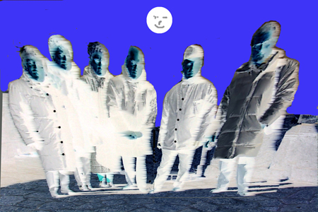 Quadro di Andrea Tirinnanzi amici miei - digital art tela