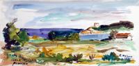 Quadro di Rodolfo Marma  Procchio - Isola d'Elba