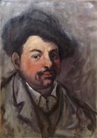 Quadro di Alberto Caligiani - Ritratto olio tela