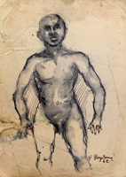 Work of Guido Borgianni  Nudo maschile