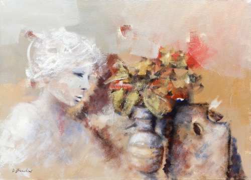 Artwork by Umberto Bianchini, mixed on canvas | Italian Painters FirenzeArt gallery italian painters