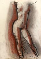 Quadro di A. Corsi  Nudo