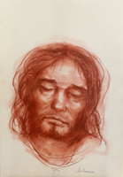 Quadro di Salvo Benincasa  Cristo